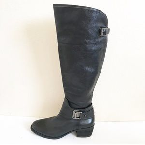 Vince Camuto Black Riding Boots 8.5